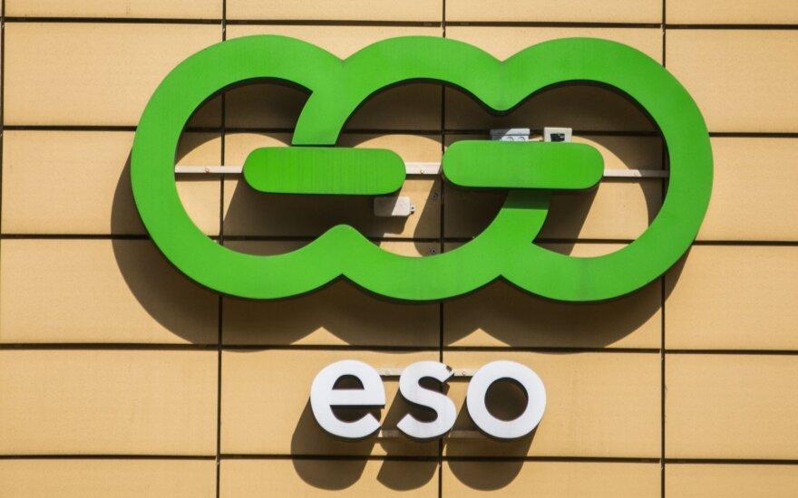 ESO pajamos šiemet sumenko 6,3 proc. iki 500 mln. eurų