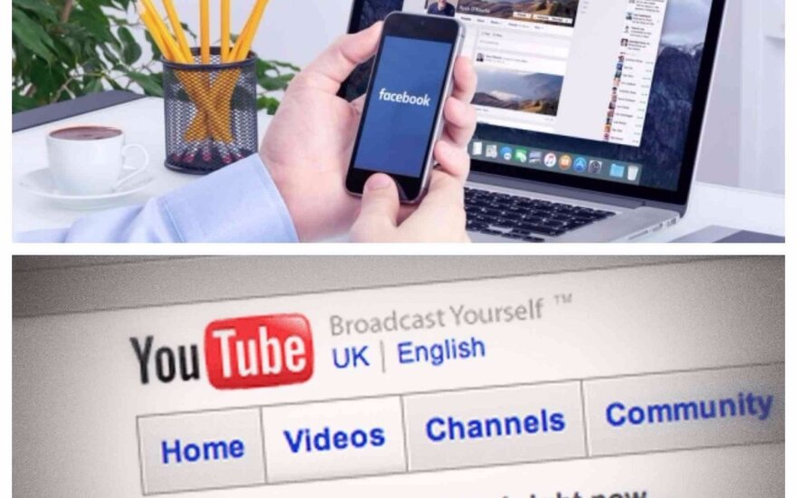 """Pagal populiarumą JAV """"Facebooką"""" gali aplenkti """"Youtube"""""""