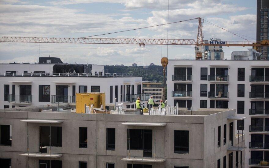 Statybų sektoriuje krizė už durų? Geras naujienas keičia nekokios