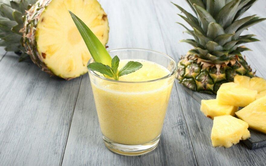 Ananasų kokteilis