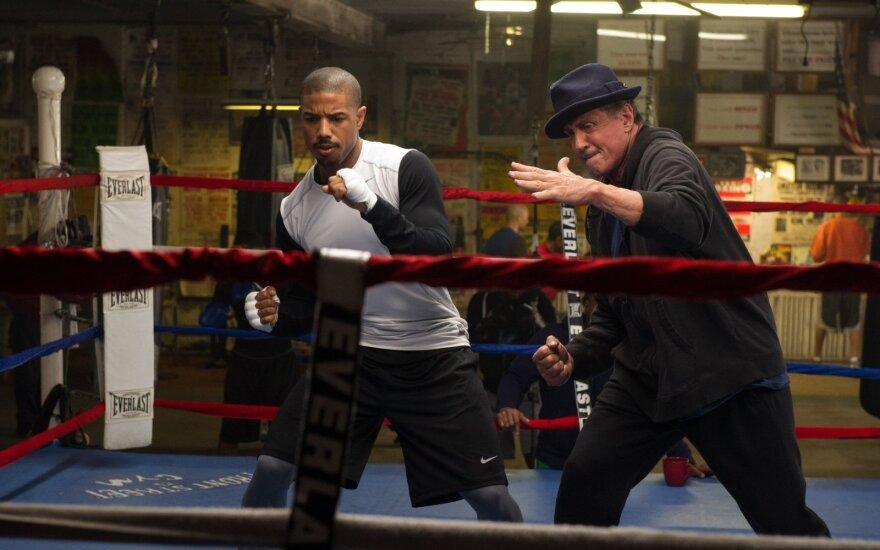 "S. Stallone filme ""Krydas: gimęs kovoti"""