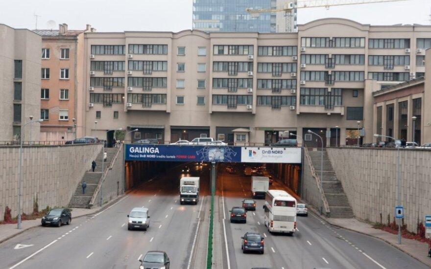 Ketinama remontuoti tunelį po Gedimino prospektu