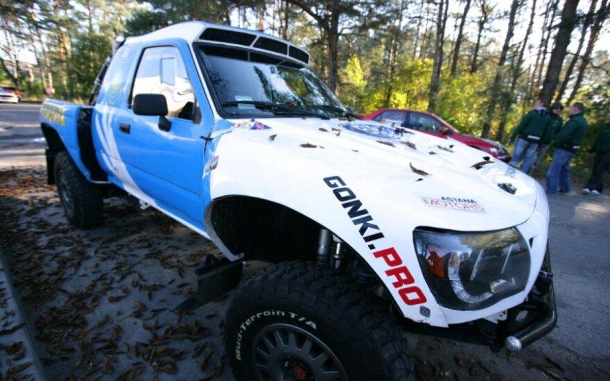 """""""Rally Classic"""" techninė komisija iš arti"""