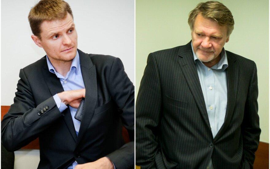Renaldas Seibutis ir Juozas Aliukonis