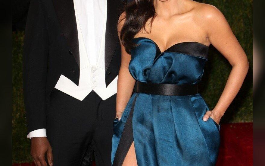 Kim Kardashian ir Kanye West
