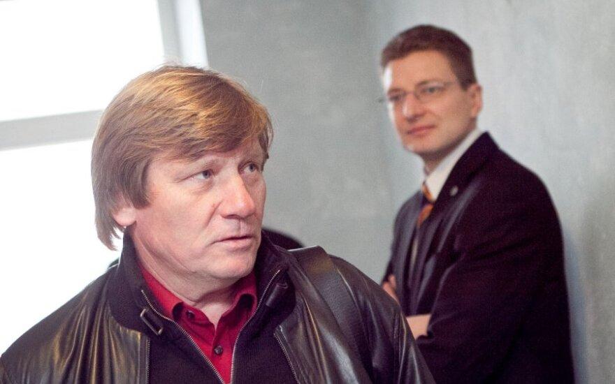 Vitas Tomkus ir Dainius Radzevičius