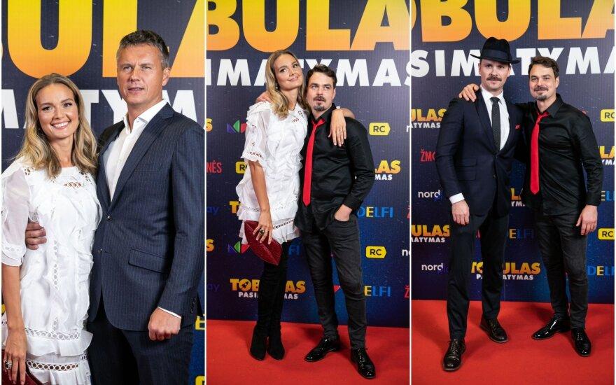 Jurgita Jurkutė-Širvaitė su vyru Ryčiu Širvaičiu/Jurgita Jurkutė-Širvaitė ir Leonardas Pobedonoscevas/Audrius Bružas ir Leonardas Pobedonoscevas