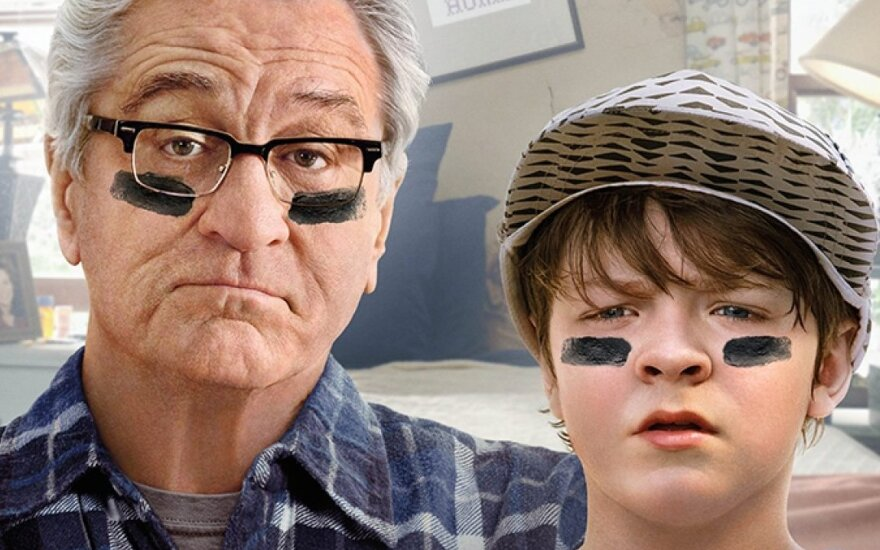 """Robertas De Niro, kadras iš filmo """"Karas su seneliu"""""""
