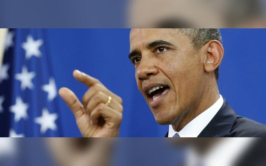 """B. Obama: D. Britanija ir Prancūzija yra tarsi """"žavingos"""" dukterys"""