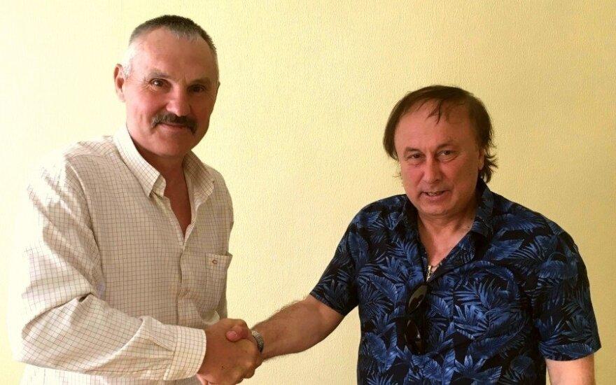 Vacys Lekevičius (kairėje) ir Anatolijus Šelestas (Foto: atlantas.lt)