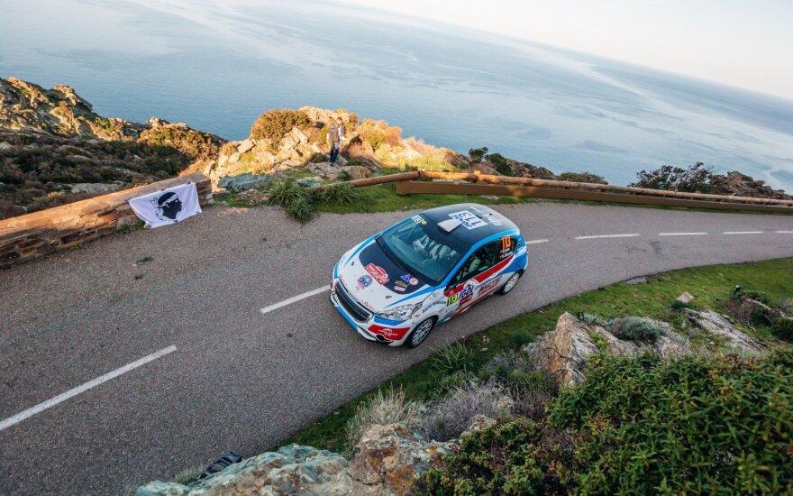 WRC ketvirtasis etapas Korsikoje