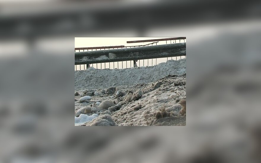 Baigiamas Kleboniškio tilto remontas
