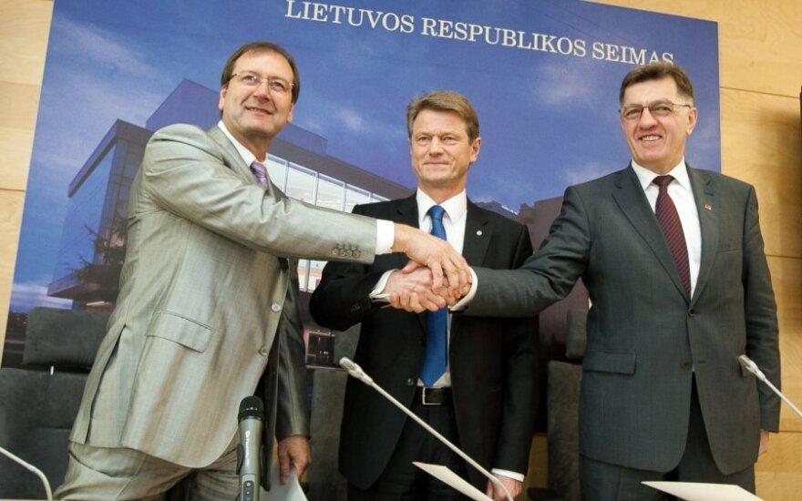 Viktoras Uspaskichas, Rolandas Paksas, Algirdas Butkevičius