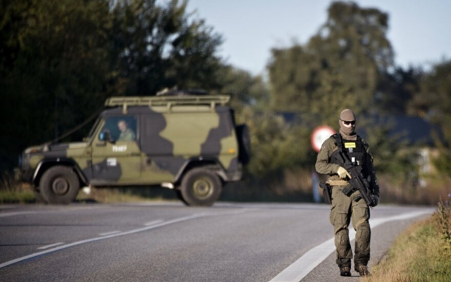 Danijoje dėl pareigūno subadymo suimtas prieglobsčio prašytojas