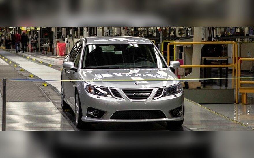 Atnaujinta Saab gamyba.