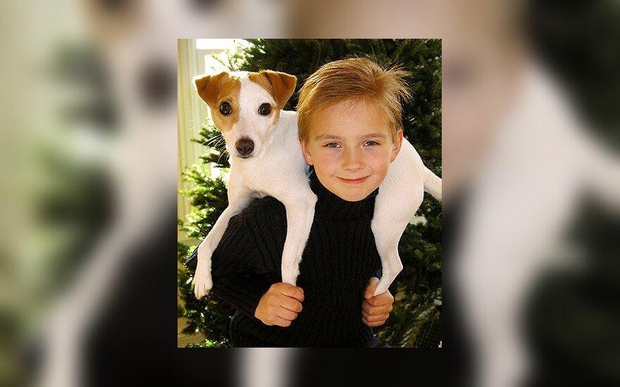 Berniukas ir šuo