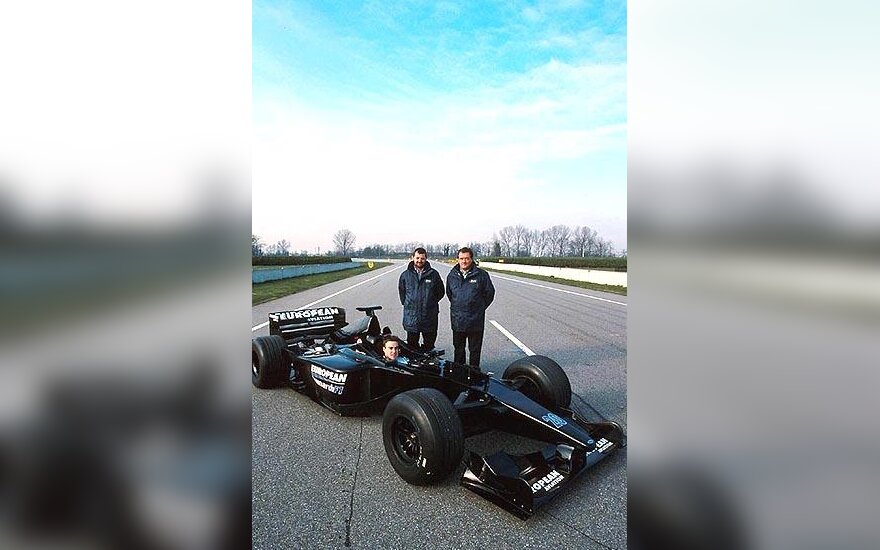 """""""European Minardi"""" bolidas"""