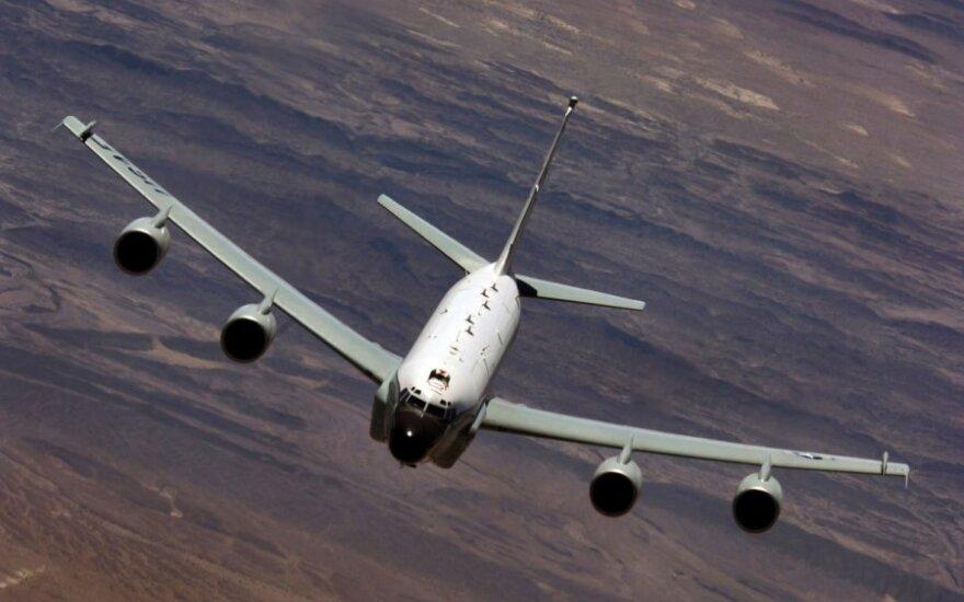 Rusija: virš Baltijos jūros NATO žvalgybos lėktuvas pavojingai priartėjo prie keleivinio lainerio