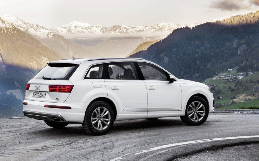 """""""Audi Q7"""" – maksimalus """"Euro NCAP"""" saugumo įvertinimas"""