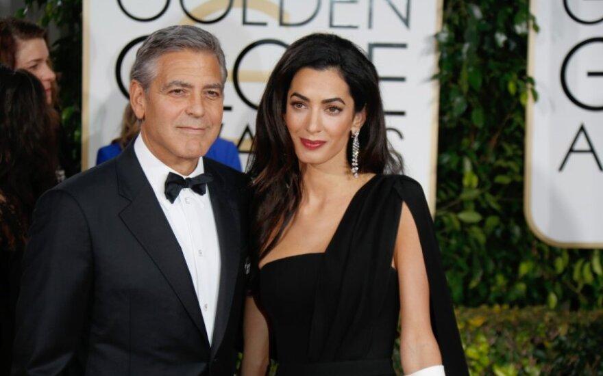 George'o Clooney efektas: vieniši vyrai nustojo bijoti protingų ir išsilavinusių moterų?