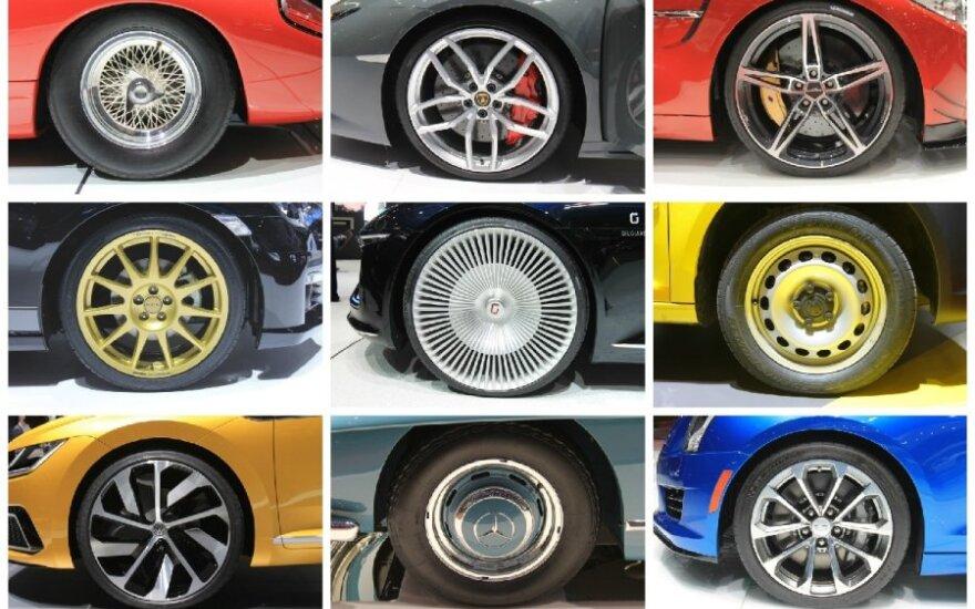 Ženevos automobilių parodoje – tviskančių ratlankių karalystė
