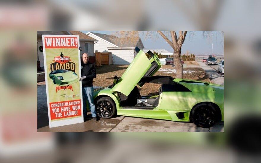 Lamborghini laimėtojas