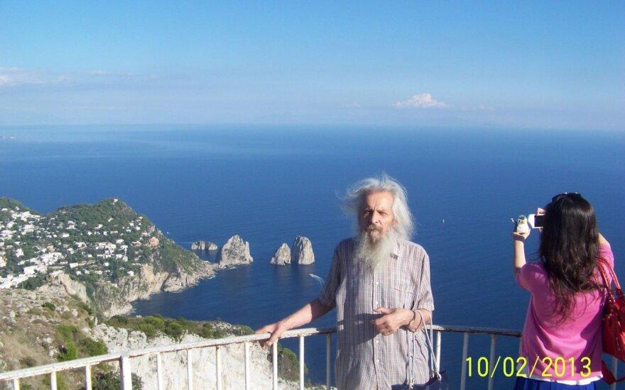 86-erių lietuvis pats susiplanavo kelionę į Italiją