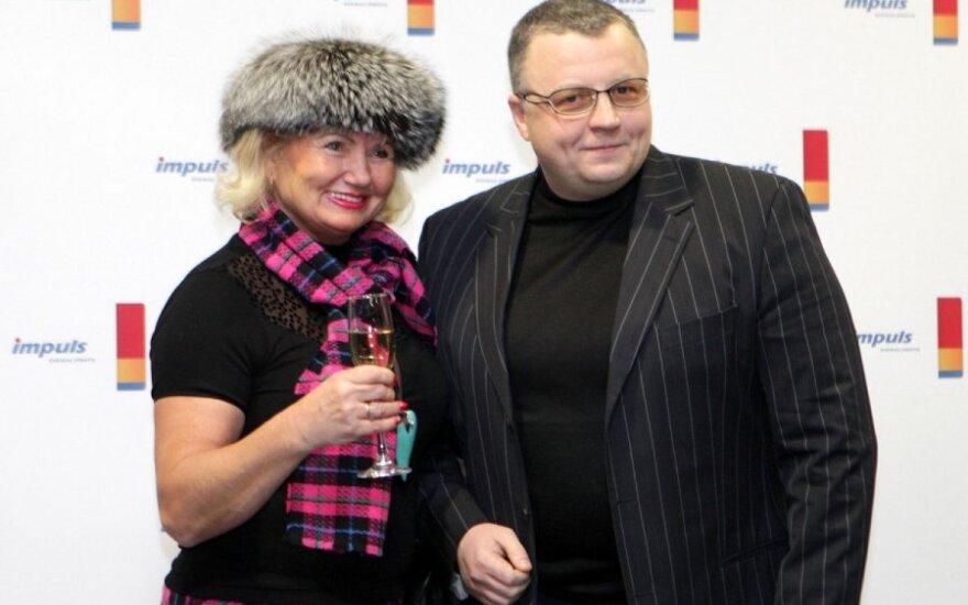 Joana Bartaškienė ir Gediminas Juodeika