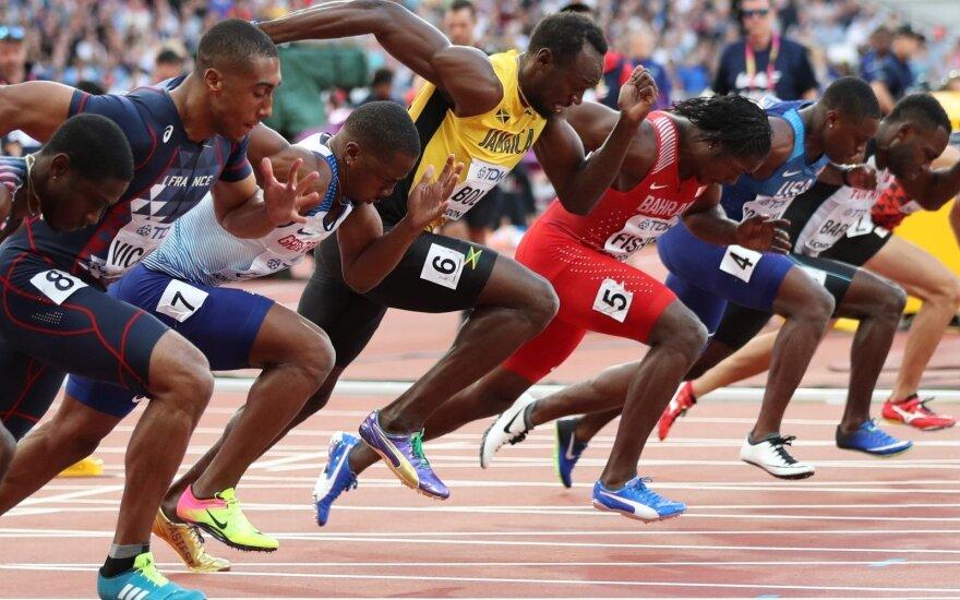 Usainas Boltas pusfinalyje