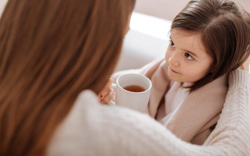Vaikų gydytoja: jei vaikas dažnai serga, reikia atsakyti į vieną klausimą