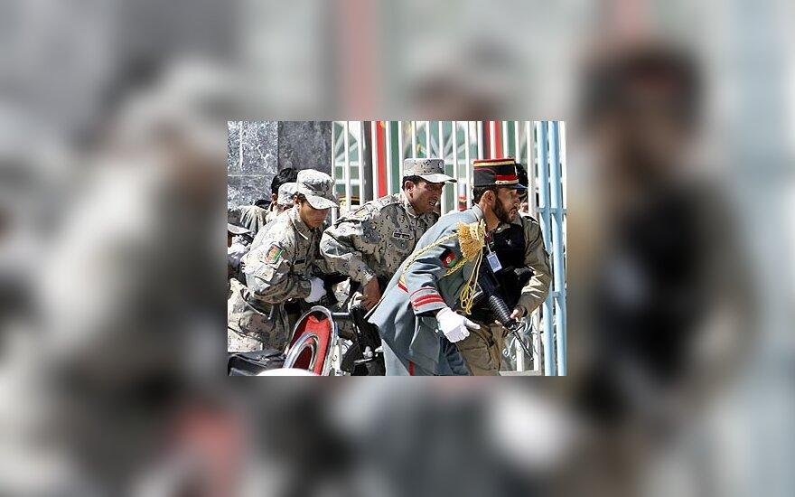 Afganistano saugumo pajėgų kariai