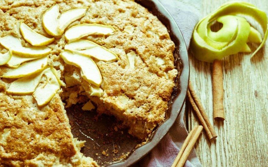 Švediškas obuolių pyragas