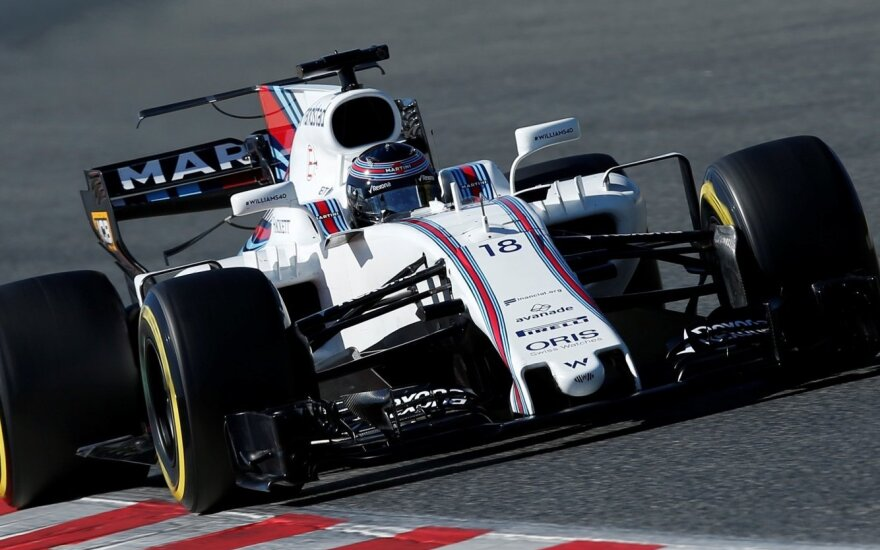 "Lancea's Strollas su ""Williams"" automobiliu"