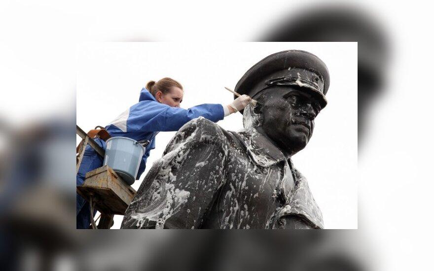 Sovietų Sąjungos maršalo Georgijaus Žukovo skulptūra