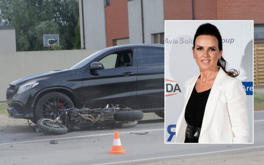 Indrė Kvedarienė tapo tragiškos avarijos liudininke