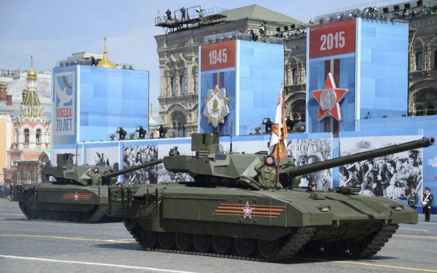 Maskva: iškilus būtinybei Rusija aprūpintų Baltarusiją reikalinga ginkluote