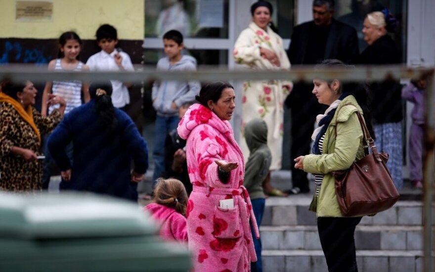Mokslininkė: į visuomenę integravęsi romai dažnai slepia savo tautybę
