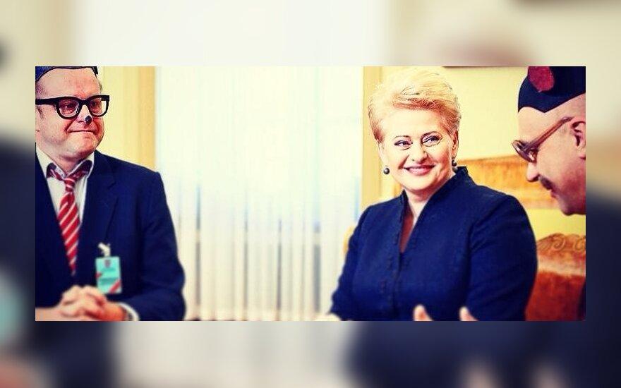 Dalia Grybauskaitė su Sūrskiu ir Mauzeriu