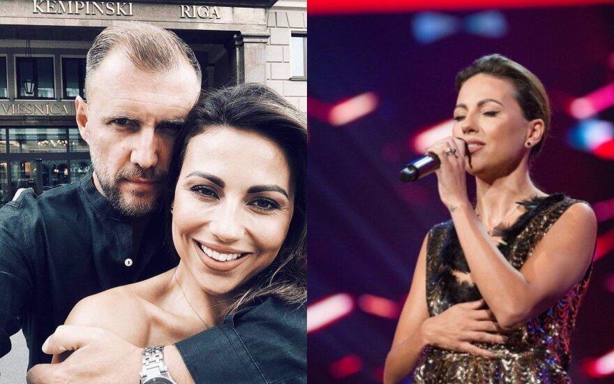 Julija ir Laurynas Žižiai/ Foto: instagramo ir TV3