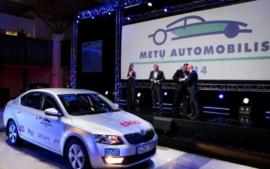 """Lietuvos """"Metų automobiliu 2014"""" tapo """"Škoda Octavia"""""""