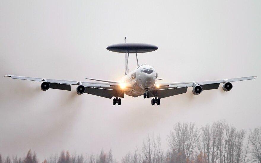 AWACS airplain Boeing E-3A Sentry