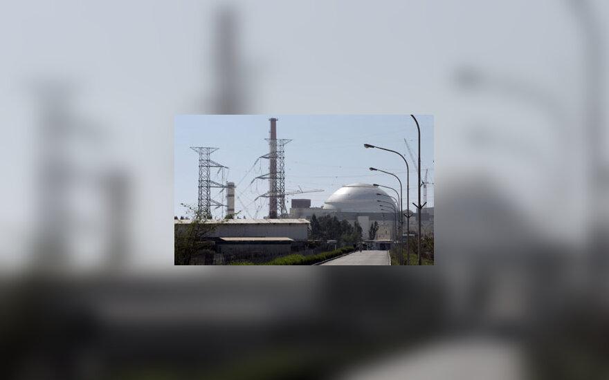 Atominė elektrinė Bušero mieste, Iranas, uranas
