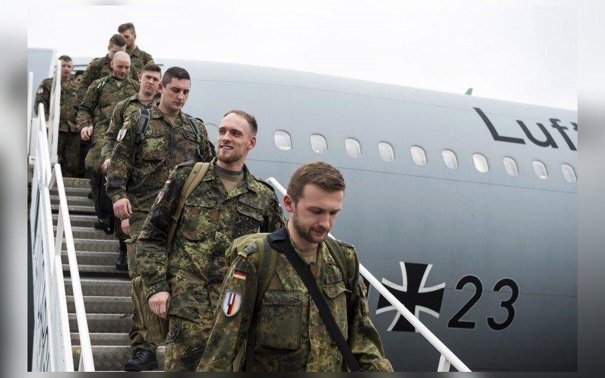 Į Lietuvą atvyksta antra Vokietijos karių rotacija