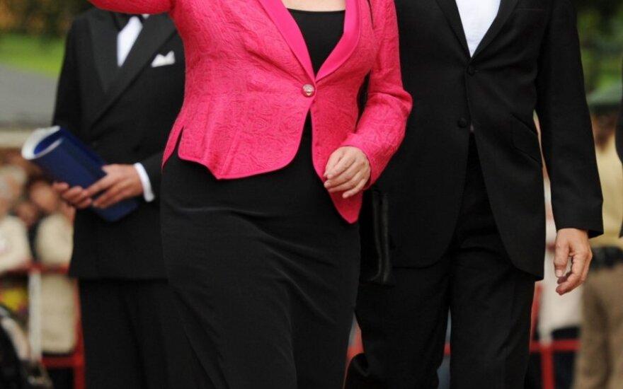 Angela Merkel su vyru Joachimu