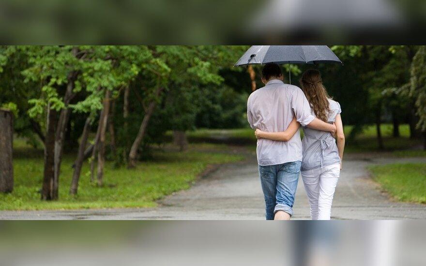 Rimtesnis lietus - tik gegužę