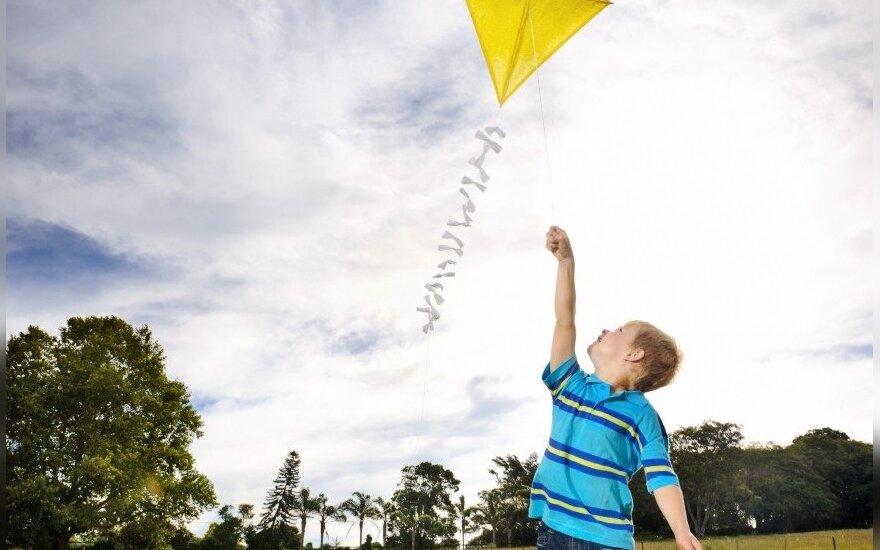 Foto konkursas! Prisimink vaikystę - leisk aitvarą!
