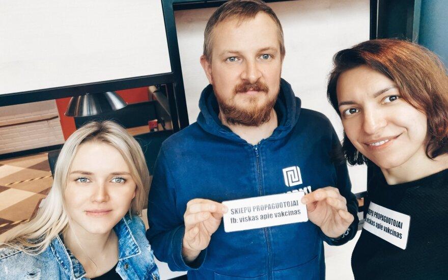 Vesta Kubiliūtė, Paulius Ambrazevičius, Darja Krupina