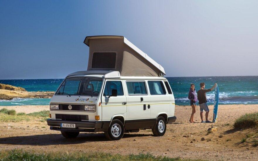 "Legendiniam kemperiui ""Volkswagen T3 California"" – 30 metų"
