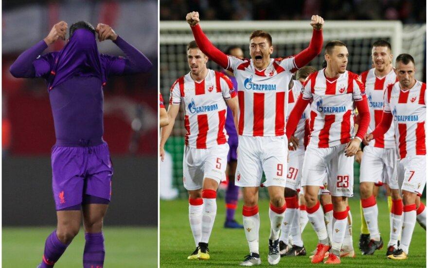 "Čempionų lygos rungtynės: ""Crvena Zvezda"" - ""Liverpool"""
