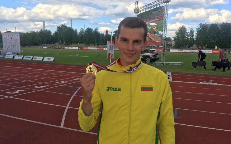 Bertašius pagerino Lietuvos rekordą ir įvykdė Europos čempionato normatyvą